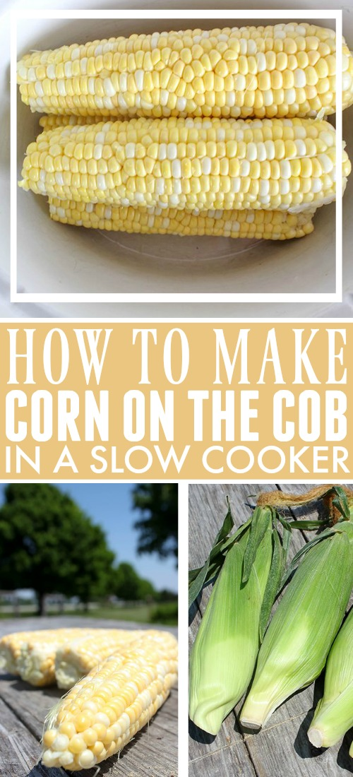 Try this recipe for slow cooker corn on the cob the next time you have a crowd to feed, a full grill, and not enough hands. I love that you can set this up ahead of time so that you can be free to watch the grill or serve some drinks at your next BBQ!