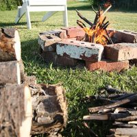 Backyard Bonfire Party Printable Checklist