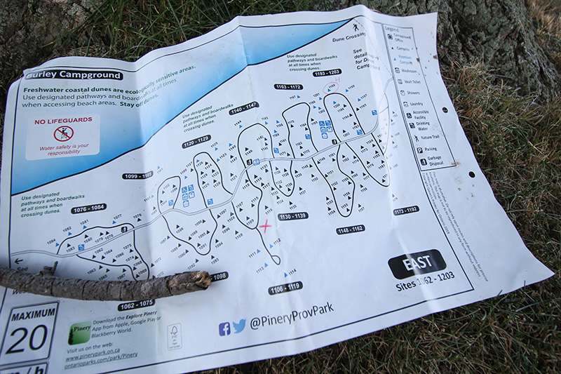 Camping Activities you Don't Have to Pack - Treasure Map