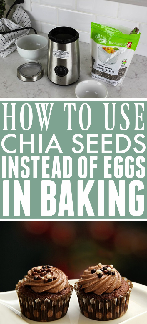 This chia seed egg substitute could save the day next time you're short on eggs or you could keep this trick handy if you ever need to replace eggs in your baking.