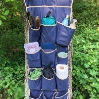 Over-the-Door Hanging Camping Organizer