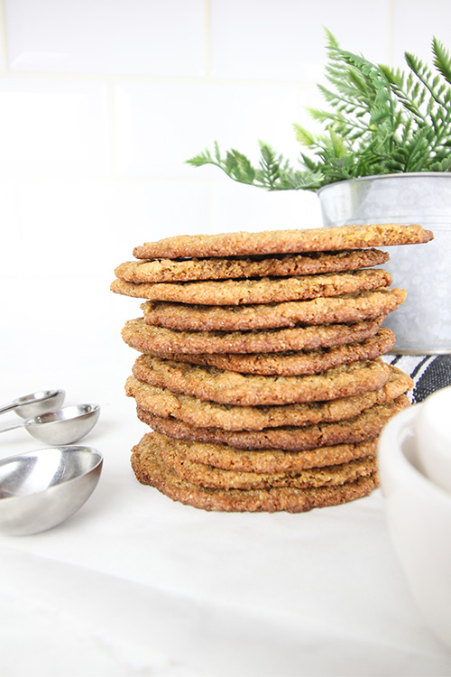 Try these almond butter cookies if you have people in your family who can't/won't eat classic peanut butter cookies! A great, simple cookie!