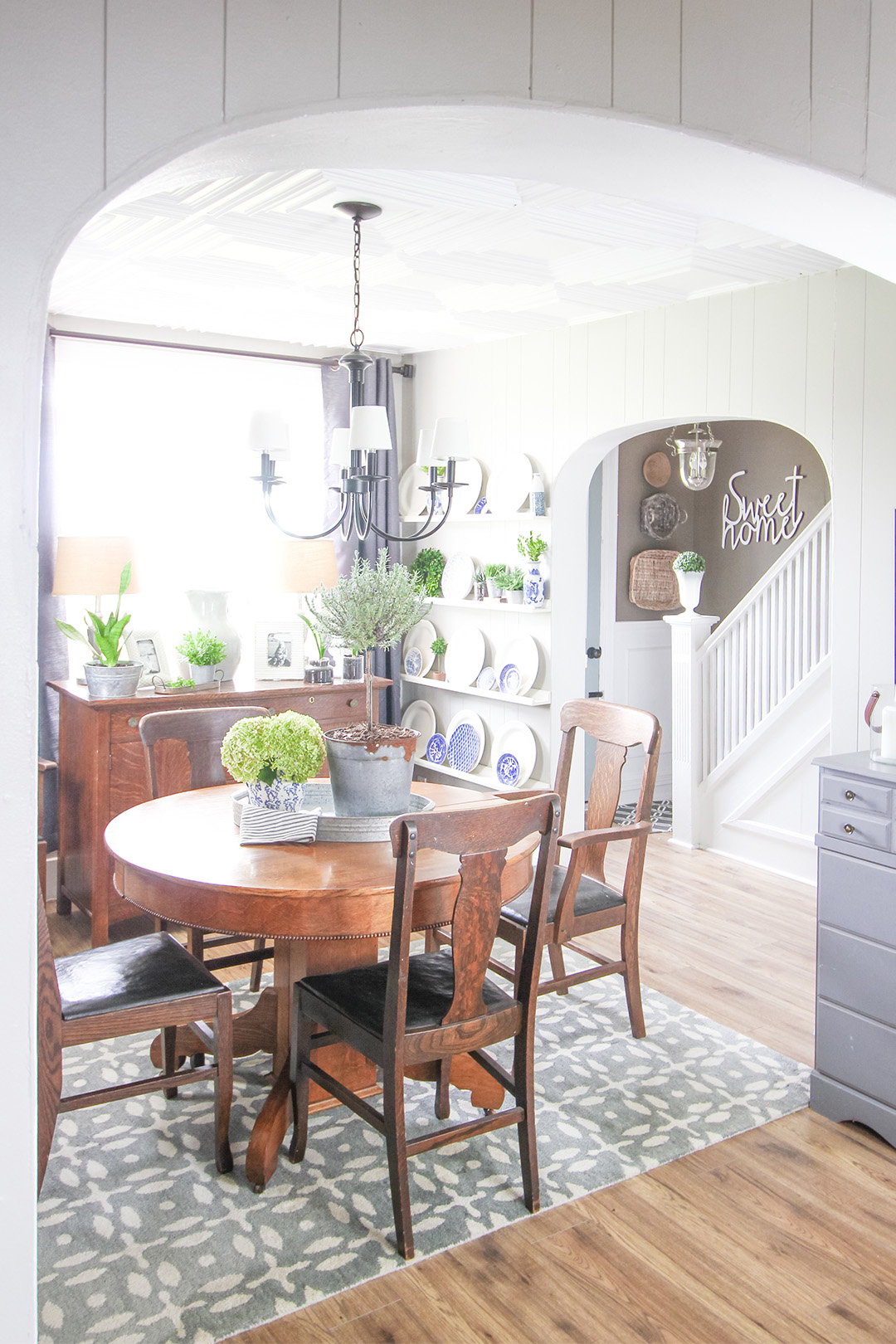 In today's post I'm sharing a few different photos of rooms that I haven't had the chance to show you yet this summer, as well as a look at our latest project!