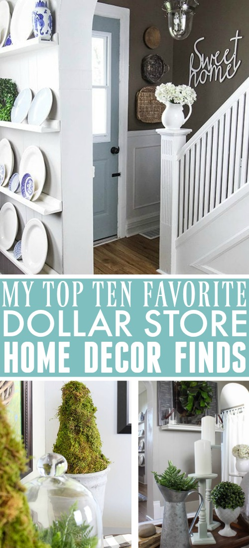 It's amazing how many dollar store home decor finds I've picked up over the years that have really stood the test of time! Today I thought I'd share a few of my favourites!