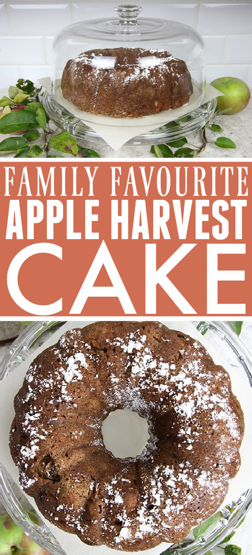 I make this apple harvest cake over and over again every fall. It's an easy, delicious way to celebrate harvest season and it's definitely a family favourite!