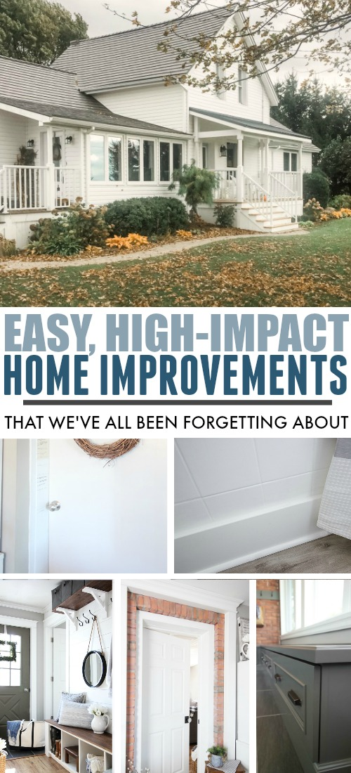 Here are some of our favourite easy home improvements that a lot of people don't think about.
