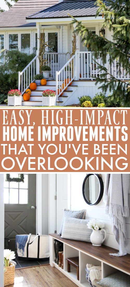 There are some home improvements that we all know are important for improving the way your home looks, but there are also some that most people overlook that can actually make a big difference. Here are some of our favourite easy home improvements that a lot of people don't think about.