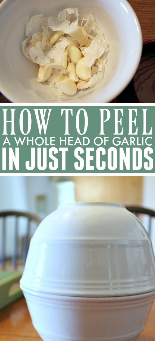 Learn how to peel garlic the quick and easy way with this amazing trick. Follow step by step instuctions with bonus tips and alternatives from our readers.