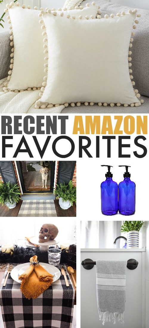 Every once in awhile I find something great on Amazon at a great price that just works so well for me and it's just nice to share these things when that happens. Here are some of my recent Amazon favourites!