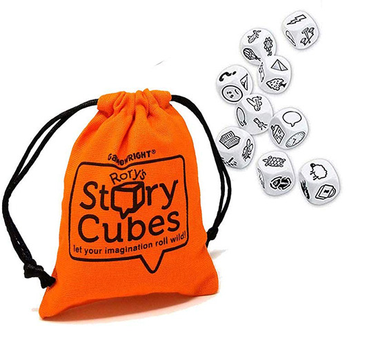 Clutter Free Christmas Gifts for Kids - Story Cubes