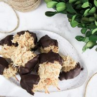 Plant-Based Coconut Macaroons