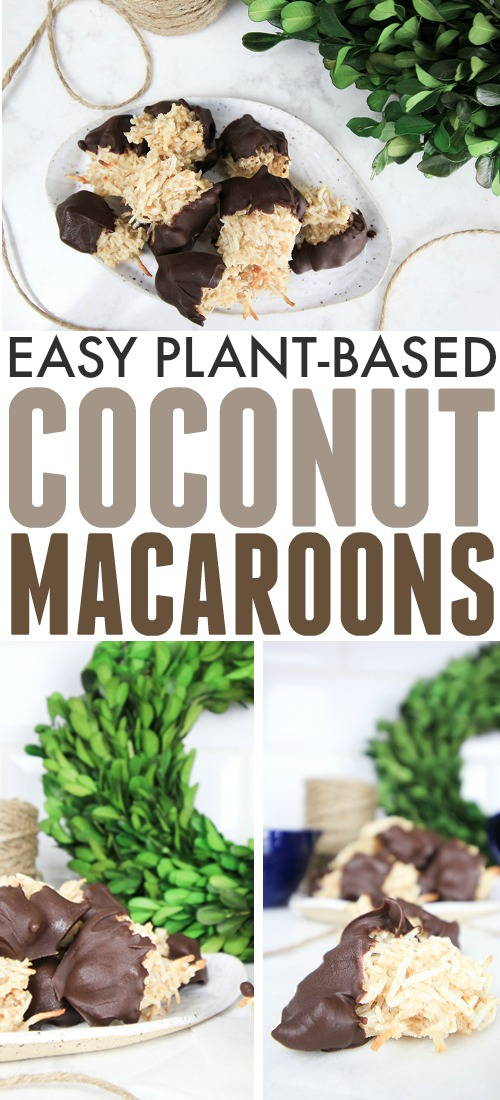 Try adding these easy plant-based coconut macaroons to your dessert table this Christmas if you have vegan friends and family that you don't want to leave out of all the feasting fun!