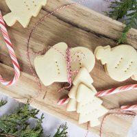 Plant-Based Shortbread Cookies