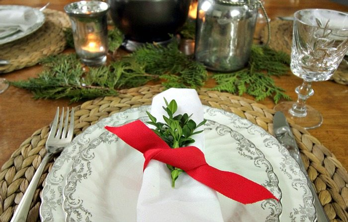 What to Clean in January: Christmas Dishes and Table Linens