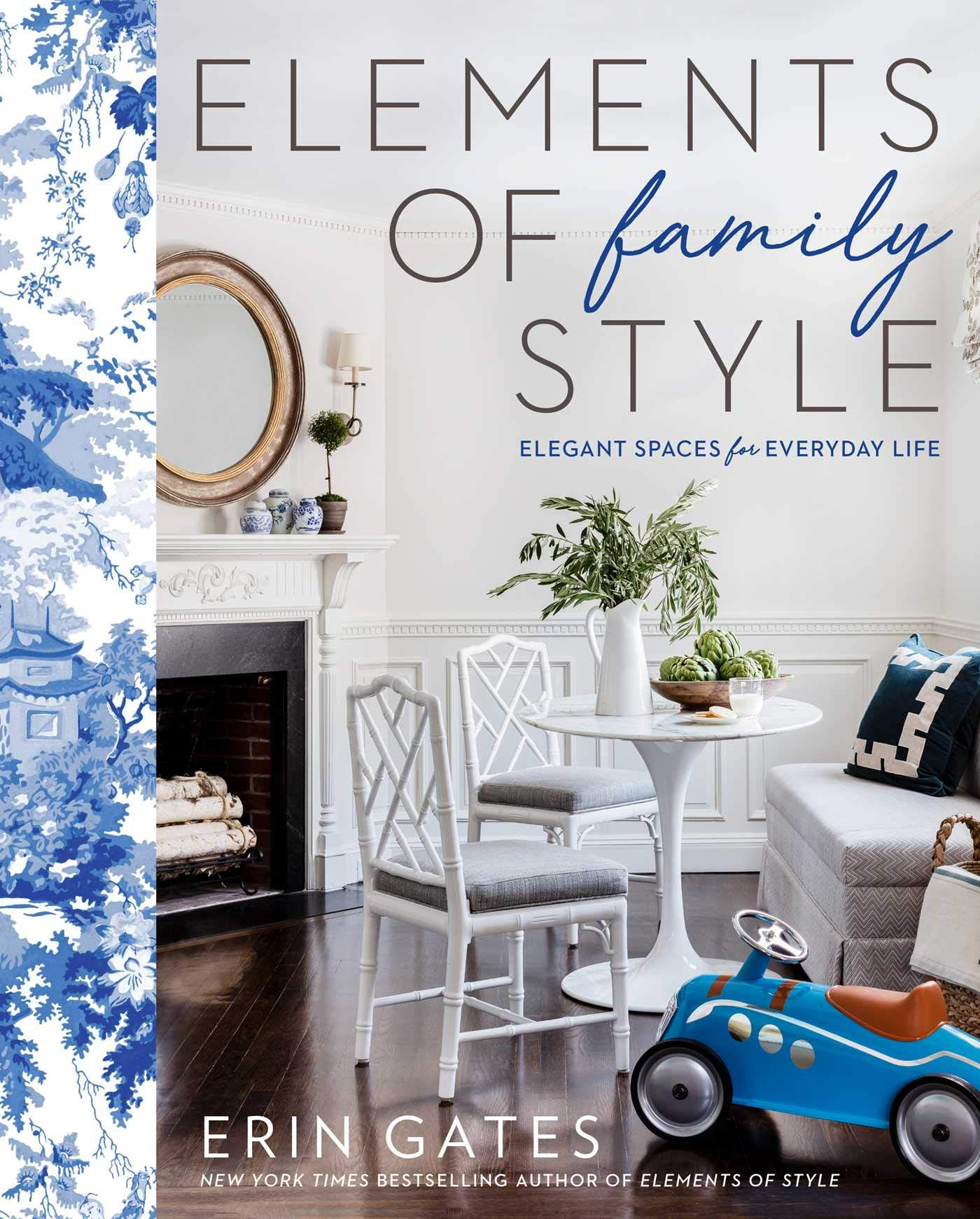 Bookshelf styling finds from Amazon: Elements of Family Style