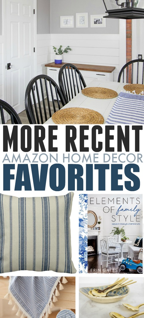 I was never quite able to get into shopping on Amazon until recently and now I can't believe all the things I've found over there! Here are some more of my recent Amazon favourites for the home.