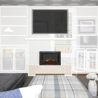 Our Next Home Project: A Fireplace and Built-Ins for the Living Room!