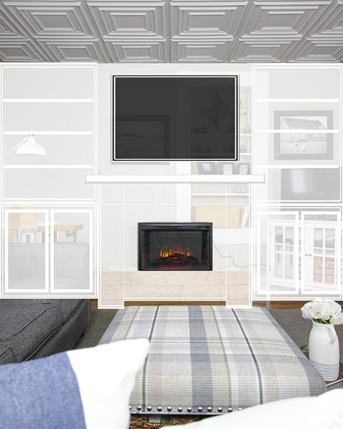 We're checking another one off of our renovation bucket list with this one! Today's post is all about our new fireplace and built-ins project for the living room!