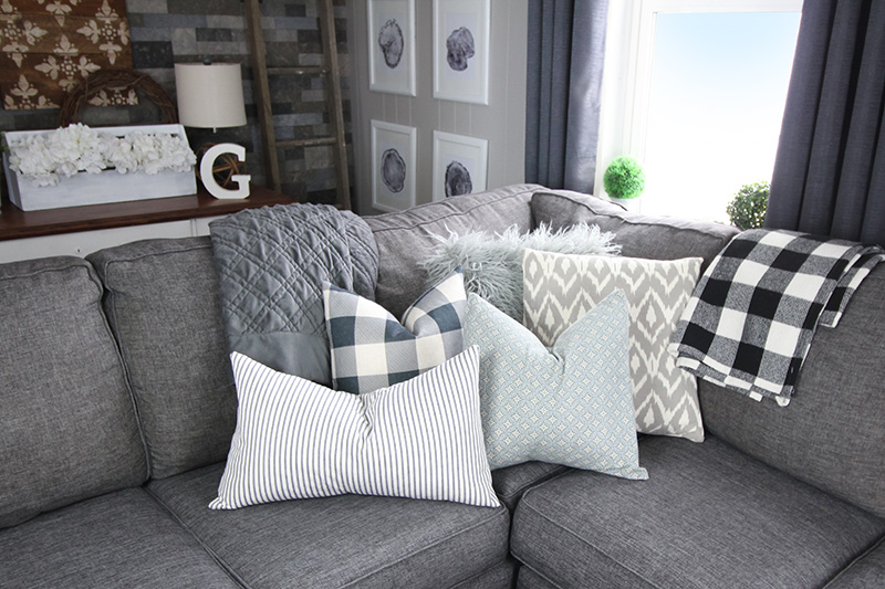 What to Clean in February: Throw Pillows