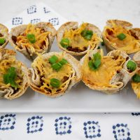 Plant-Based Muffin Tin Taco Cups