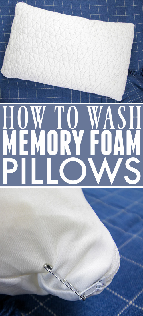 In today's post we'll talk about how to wash memory foam pillows properly for a great night's sleep for years to come!