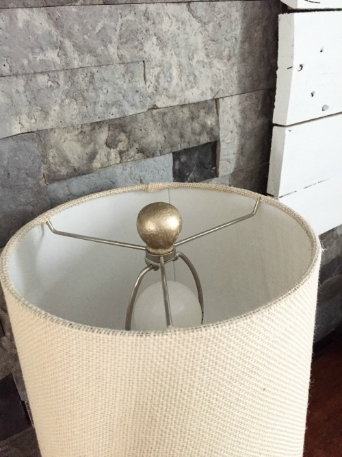 Gold Painted Lamp Finials