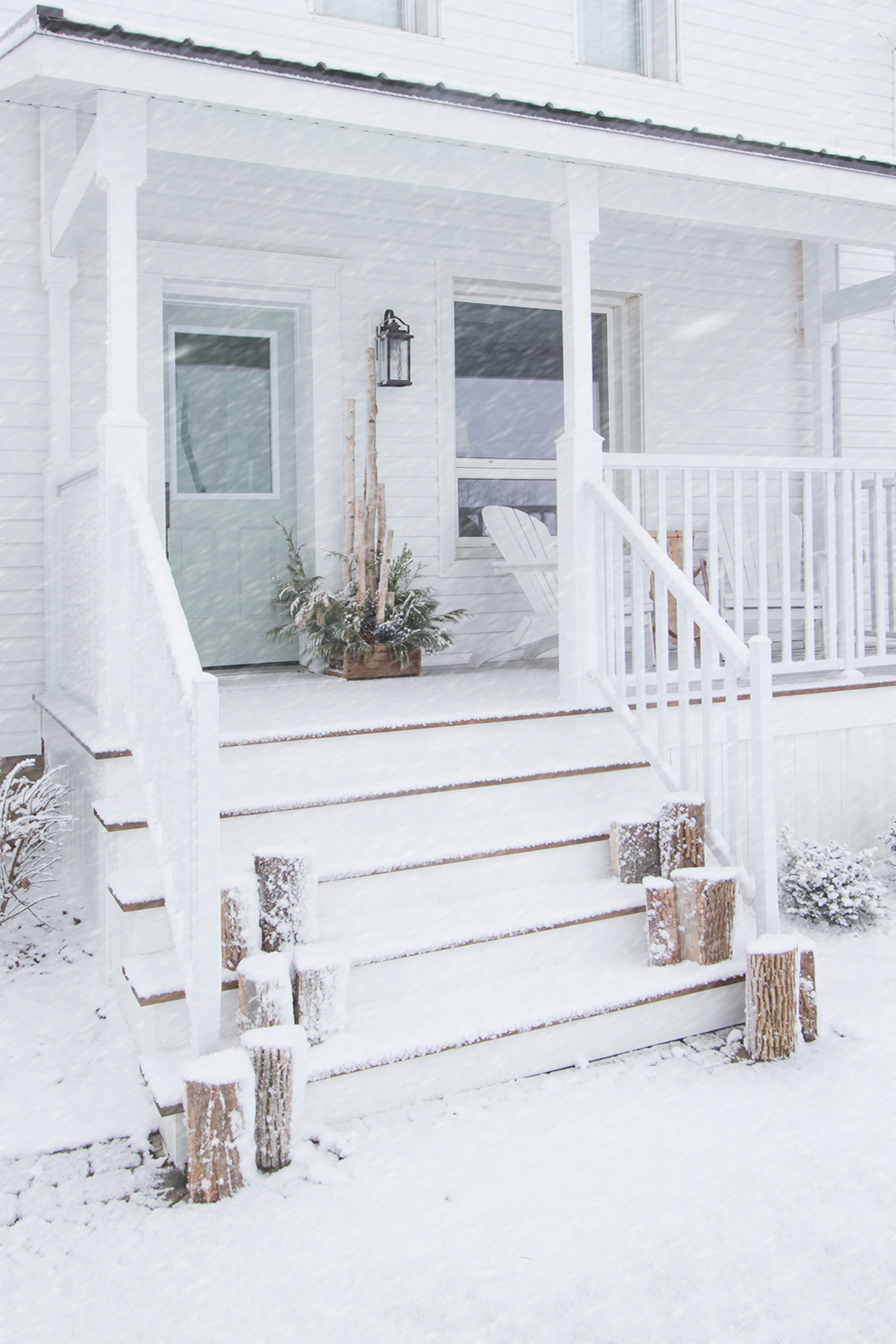 Winter farmhouse home tour