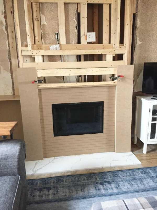 Fireplace project update