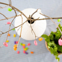 DIY Easter Jelly Bean Branches