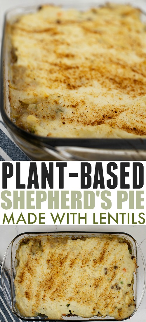 This plant-based shepherd's pie recipe is a comfort food staple around here. It works equally well as a weeknight dinner or to take along to a potluck!