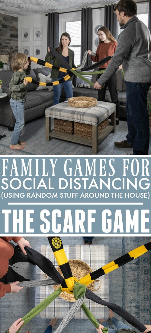 Check out this fun family activity you can enjoy while social distancing together. You already have everything you need and everyone is a winner!