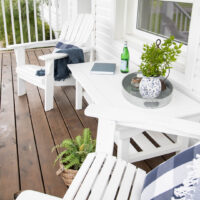 How to Style an Outdoor Coffee Table