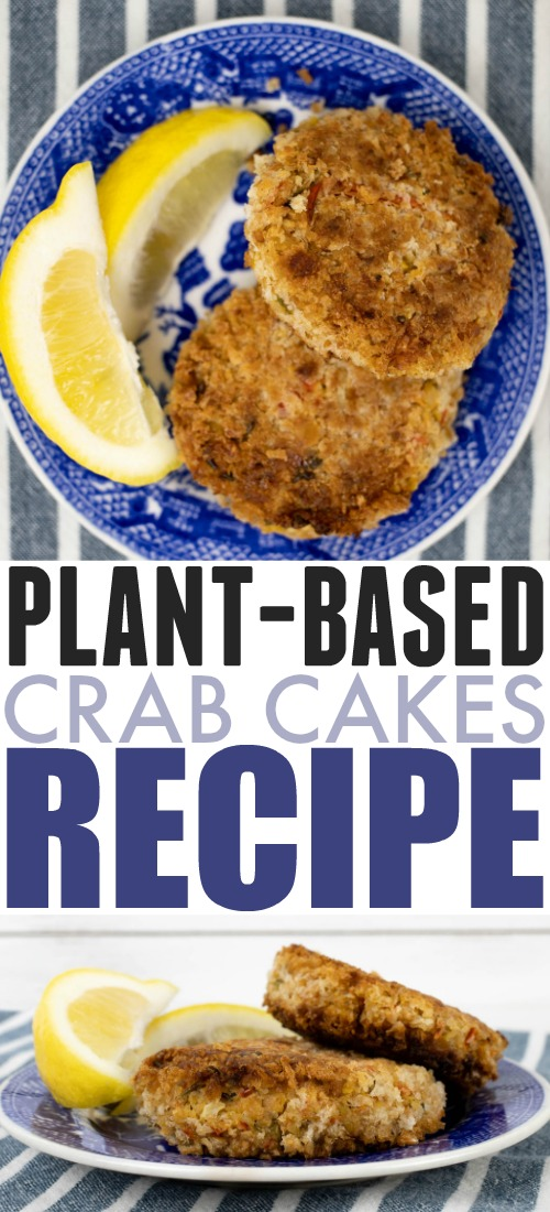 You might even like these plant-based crab cakes better than the real deal! Cleverly made with chickpeas and artichoke hearts!