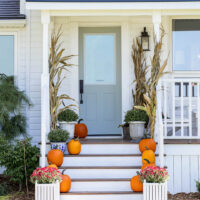 Classic Farmhouse Fall Front Porch