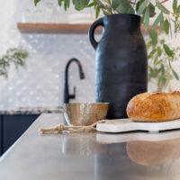 DIY Matte Black Ceramic Vase