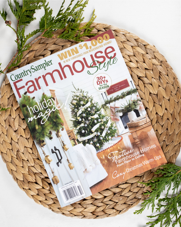 We're in Farmhouse Style Magazine! - Five Things on a Friday