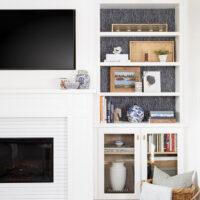 DIY Skinnylap Fireplace Surround