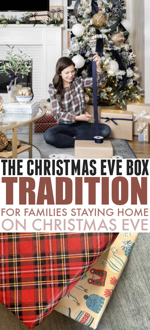 In today's post I'll share our family's little Christmas Eve tradition! It's particularly 2020-appropriate and I thought some other people might appreciate this idea as well. Here's the Christmas Eve Box tradition!