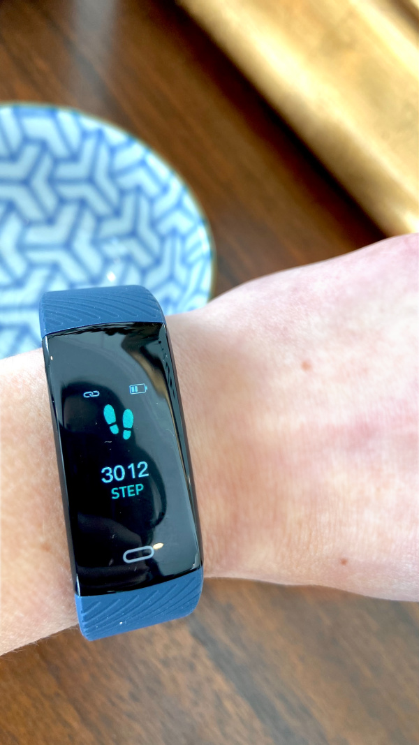 My $20 fake Fitbit from Amazon.