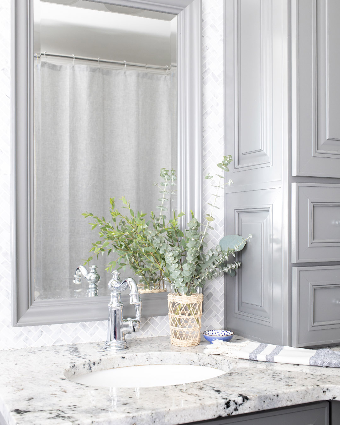 In today's post we'll talk about how to care for fresh eucalyptus so it lasts as long as possible and dries nicely too!