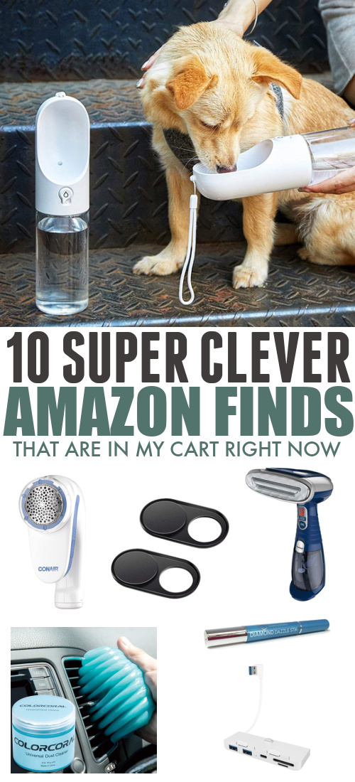 I have some pretty fun and/or useful items in my Amazon cart right now and I know how much you all love handy Amazon finds, so I thought I'd share. :)