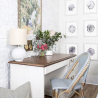 How to Whitewash a Stone Wall