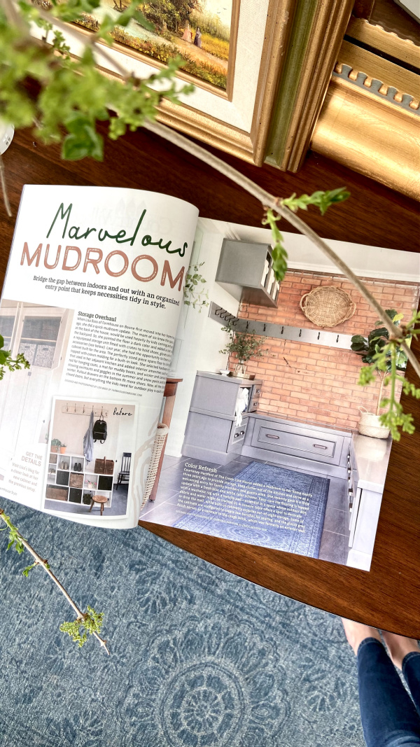 We're in the Summer 2021 Issue of Country Sampler Farmhouse Style Magazine