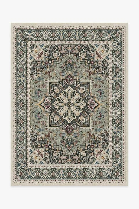 Have you wondered if those Ruggables that you've seen everywhere are really as good as they sound? I thought today I'd do a formal Ruggable washable rugs review so that you can have all the information you need to make an informed choice if you think these rugs might work for you.