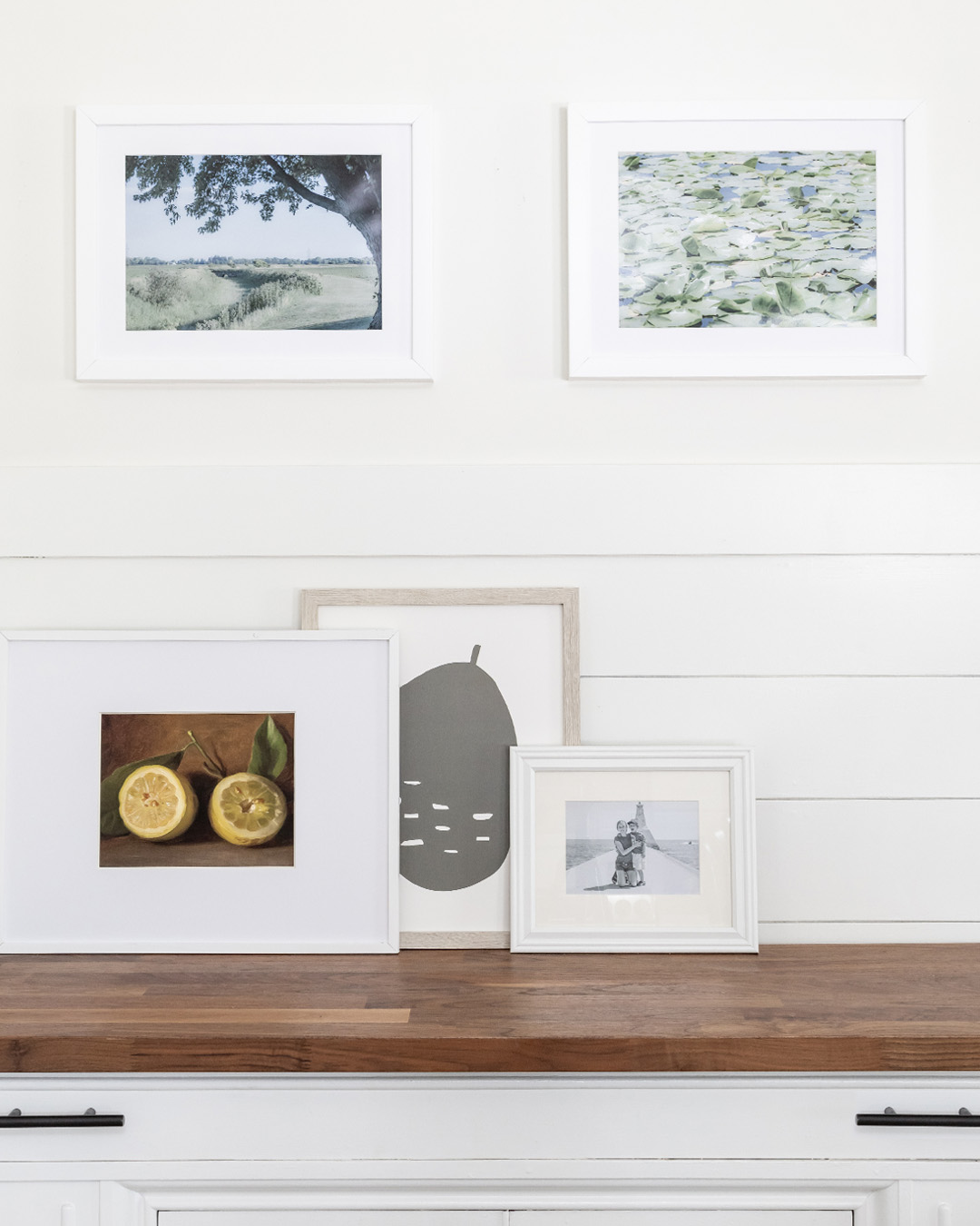 I'm always changing things and making little adjustments here and there, so today I'm sharing my latest little update which I think was particularly successful. :) Here's how to update a tired gallery wall!