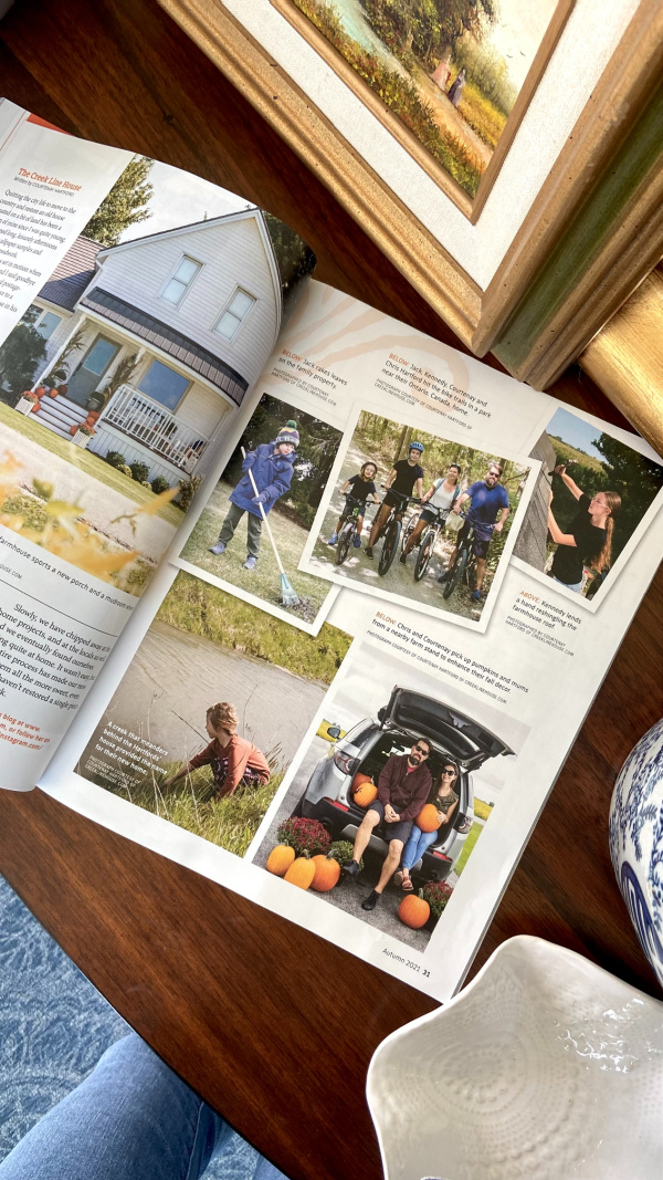 Five Things on a Friday - We're in Country Sampler Farmhouse Style Magazine!