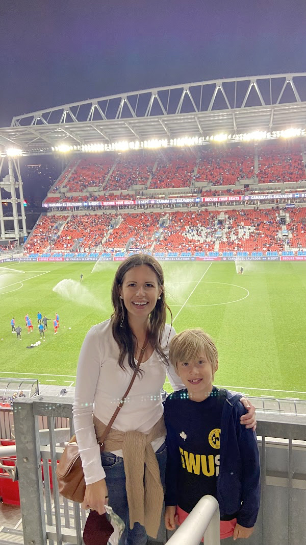 Five Things on a Friday - Soccer Game