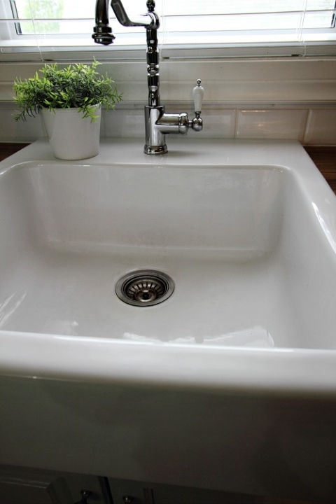 What You Need To Know About The Ikea Domsjo White Farmhouse Sink The Creek Line House