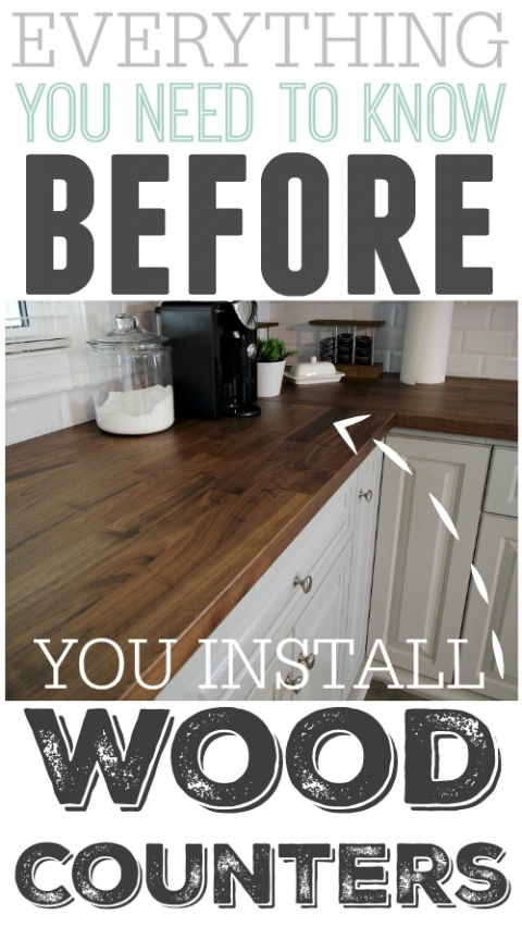 Pleasant Everything You Need To Know Before You Install Wood Counters Home Interior And Landscaping Ferensignezvosmurscom