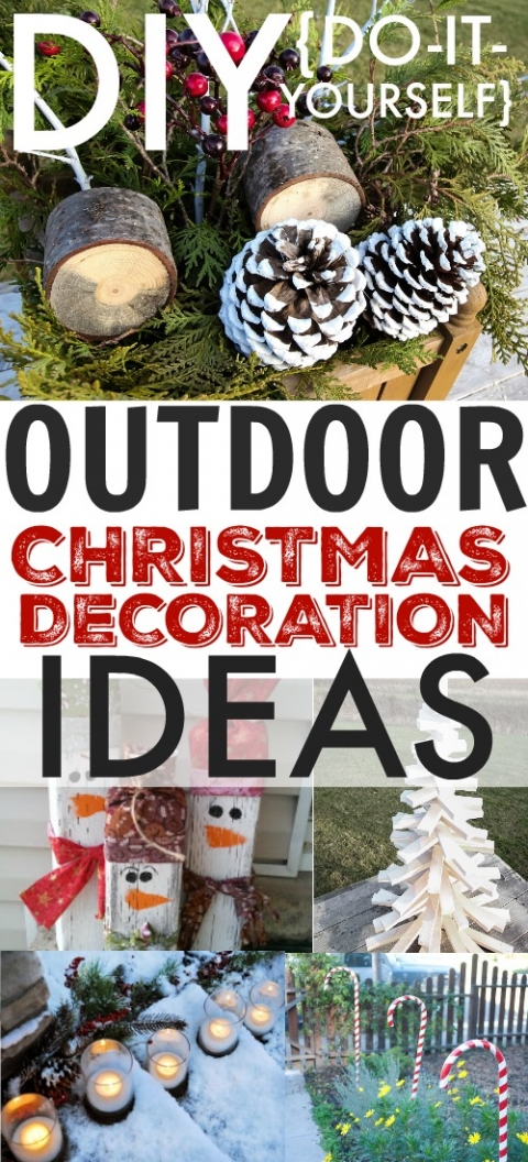 Easy Diy Outdoor Christmas Decorations.Diy Outdoor Christmas Decoration Ideas The Creek Line House